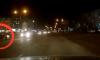 В Сумах патрульный автомобиль едва не попал в ДТП