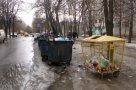 Новая «площадка» на Ильинской,12/1. Место, куда перенесли контейнеры.