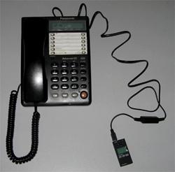 """Миниатюрный цифровой диктофон  """"E-dic LCDB8 """" через специальный адаптер может быть подключен для записи..."""
